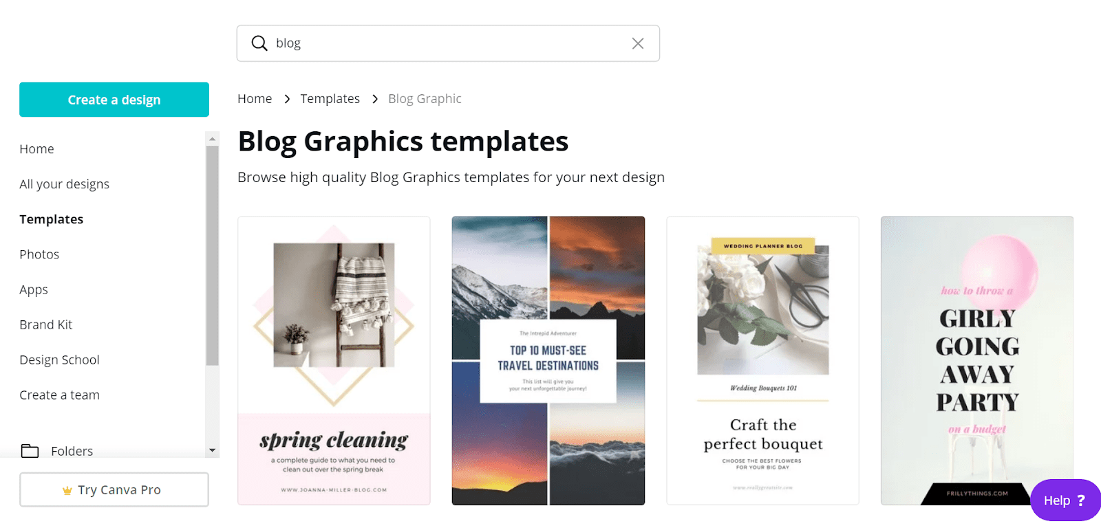 Creating an Image with Canva for WordPress