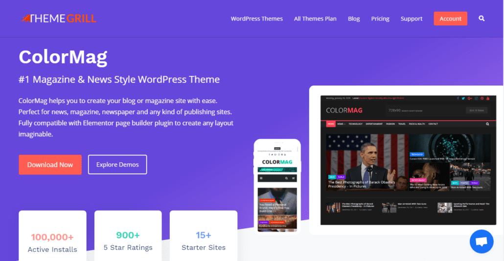 ColorMag Free WordPress Themes